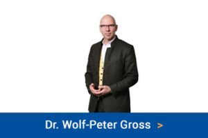 Dr. Wolf-Peter Gross law firm change consultants