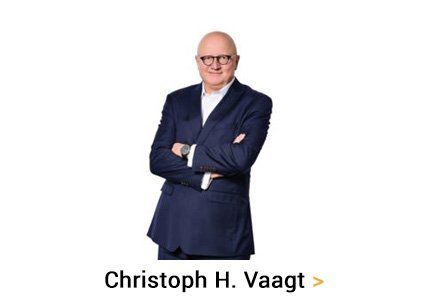Christoph H. Vaagt law firm change consultants