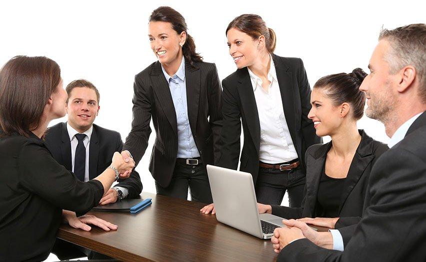 Kanzlei-Chefetage sucht Frau